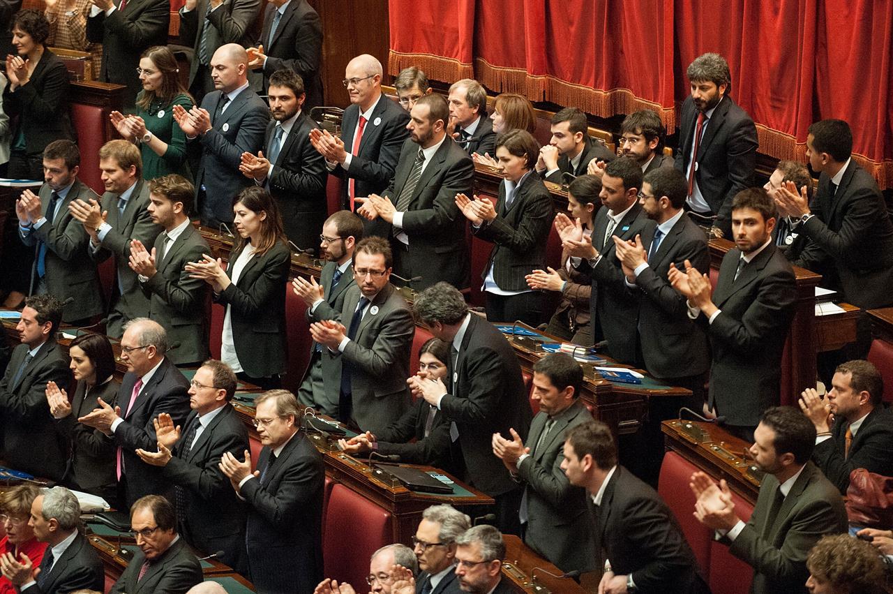 roma ecco dove vanno a mangiare i parlamentari grillini