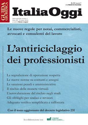 L'ANTIRICICLAGGIO DEI PROFESSIONISTI
