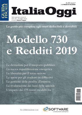 MODELLO 730 e REDDITI 2019